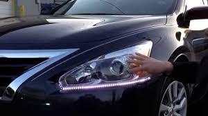 jdm nissan altima 2013 led lighting kit on a 2014 nissan altima installed by mobile
