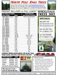 christmas tree prices wholesale christmas tree pricing