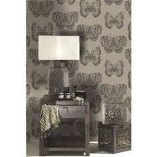 solitude wallpaper silver and black from homebase co uk