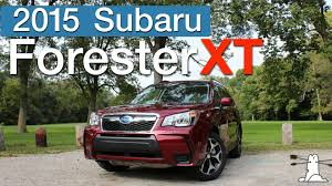 red subaru forester 2015 driven 2015 subaru forester xt premium youtube