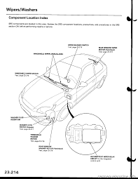 wipers honda civic 1999 6 g workshop manual