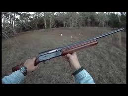 Browning Light 12 Fn Browning Auto A 5 Belgium 12 Gauge Legacy 1960 Youtube