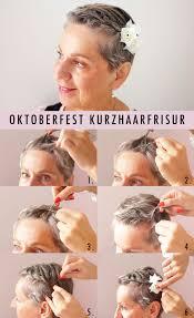 Oktoberfest Kurzhaarfrisuren Anleitung by Einfache Kurzhaarfrisur Für Das Oktoberfest Perfecthair Ch