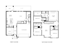 small 4 bedroom floor plans simple small house plans awesome 2 story 4 bedroom house plans 7