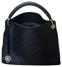 louis vuitton artsy mm bag louis vuitton artsy mm noir empreinte leather hobo bag tradesy