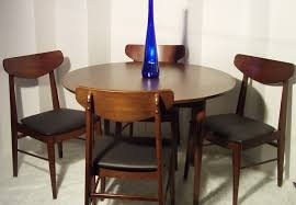 mid century dining kitchen set 4 stanley chairs in lower manhattan