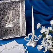 wedding guest register vintage wedding guest register signature pen diamante decor heart