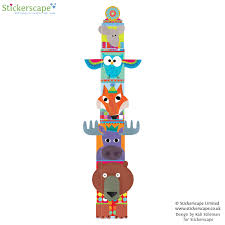 totem pole height chart stickerscape uk totem pole height chart