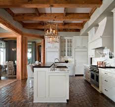 kitchen brick floor kitchen kitchen traditional with antique