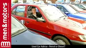 used peugeot diesel cars used car advice petrol or diesel youtube