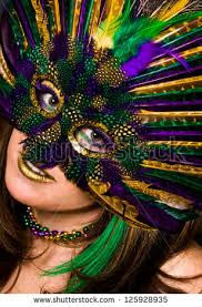 beautiful mardi gras masks beautiful woman mardis gras mask makeup stock photo 125928935