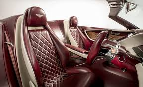 pink bentley interior bentley showcases how to bring luxury to electric cars previews