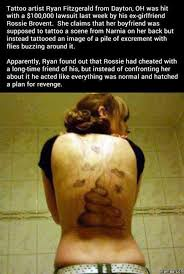 Cheating Girlfriend Memes - how a tattoo artist got back at his cheating girlfriend talk about