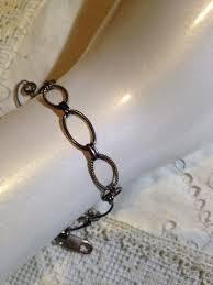 silver chain link charm bracelet images Vintage 925 sterling silverchain link charm bracelet nemesis jpg