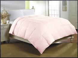 light pink down comforter amazon com luxlen deluxe down alternative comforter queen 88 x