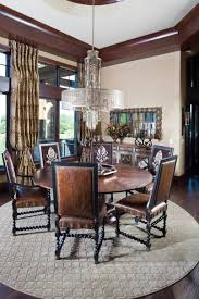 mediterranean style home interiors dining room counter height dining with dining room suites also