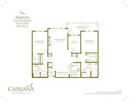 floor plans u2013 oakmont of capriana