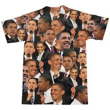 Obama Curtains Barack Obama Face T Shirt Shelfies