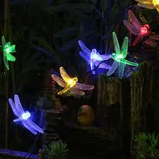 Dragonfly String Lights by 30 Perfect Unique Outdoor String Lights Pixelmari Com