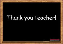 thank you poems to teachers