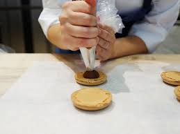 macarons bakery in pictures bouchon bakery s salted caramel macarons