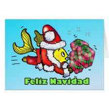 feliz navidad christmas card fishing christmas cards invitations greeting photo