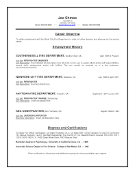 sample firefighter resume fire department resume resume for your job application