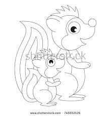 cartoon skunk stock images royalty free images u0026 vectors