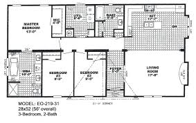 bedroom double wide plans home x mobile floor plan