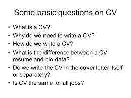 Do All Jobs Require A Resume by C V Writing Sanjay Arora Ppt Download