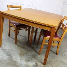MidCentury Modern Mahogany Dining Table - Mahogany kitchen table