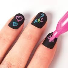 chalkboard nail art aquastone group