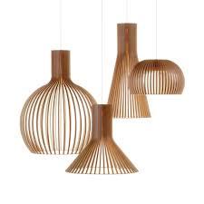 Contemporary Pendant Lights Australia Secto Wooden Pendant Light Pendants Pendant Lighting And Lights