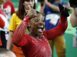 gold medal hair products company simone biles wins 3rd gymnastics gold medal with vault victory