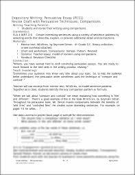 Format For A Persuasive Essay Grade 4 Writing Persuasive Essay Pe 75 Spring 2010 Portland Public