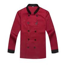 cadeau cuisine femme veste de cuisine femme et homme aux manches longues professionnelle