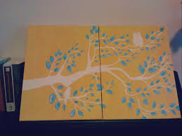 Craft Ideas For Kitchen Canvas Painting Ideas For Easter Home Decor Ideas