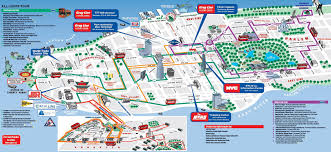 New York City Marathon Map by Viator New York City 3 Day Hop On Hop Off Bus Tour And