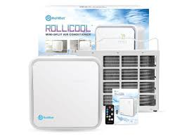 ductless mini split air conditioner rollicool ductless mini split air conditioner 42db ultra quiet
