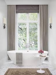 Modern Bathroom Windows Modern Bathroom Window Curtain Designs Spaces Pinterest