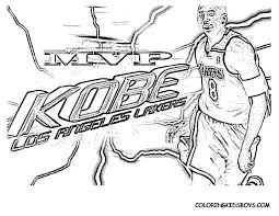 coloring page kobe bryant coloring pages coloring page and
