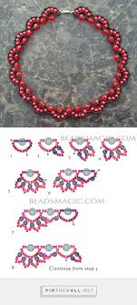 beads necklace pattern images 60 bead necklace tutorial patterns beading tutorial pattern jpg