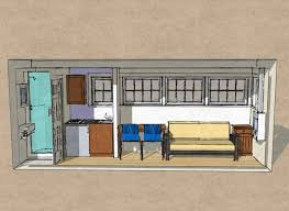 Container Homes Floor Plan Small Scale Homes New 8 U0027 X 20 U0027 Shipping Container Home Design