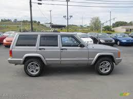 jeep classic silverstone metallic 2000 jeep cherokee classic 4x4 exterior photo