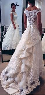 lace wedding gown best 25 wedding dresses with lace ideas on wedding