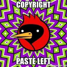 Meme Generator Copyright - copyright paste left omsk crow meme generator