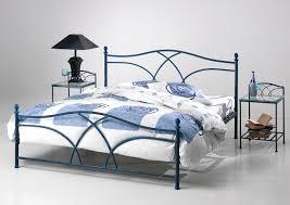 fer forgé chambre coucher lit fer forgé coloris rouille evita lit fer forgé et métal