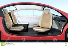 self driving car interior concept stock illustration image 70992083