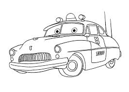 sheriff coloring pages