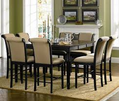 dining room superb dining set for 8 black kitchen table and